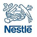 Logo van klant Nestlé