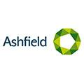 Logo van klant Ashfield