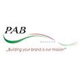 Logo van klant PAB