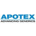 Logo van klant Apotex